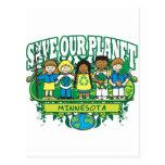 Earth Kids Minnesota Postcard
