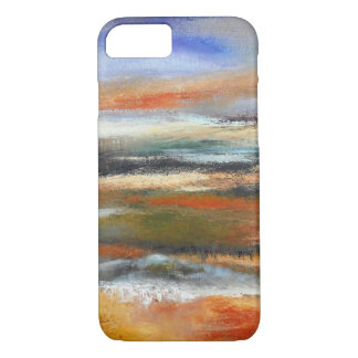 Earth Layers Abstract iPhone Case