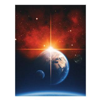 earth letterhead