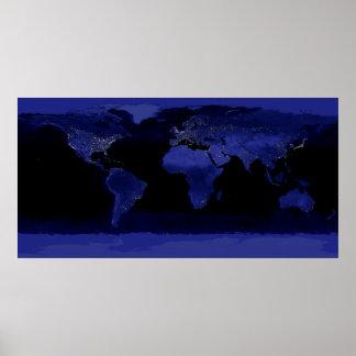 Earth Lights Print