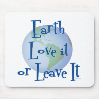 Earth Love Mouse Pad