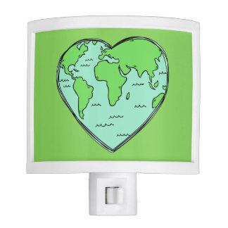 Earth Love night light