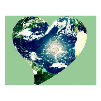 Earth Love Postcard