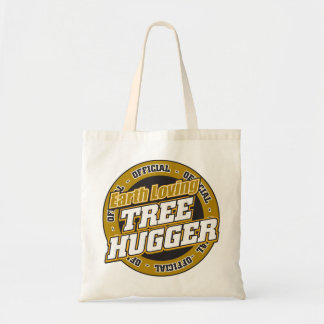 Earth Loving Tree Hugger Budget Tote Bag