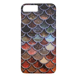 Earth Luxury Glitter Mermaid Scales iPhone 8 Plus/7 Plus Case