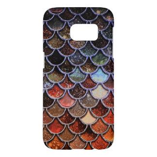 Earth Luxury Glitter Mermaid Scales Samsung Galaxy S7 Case
