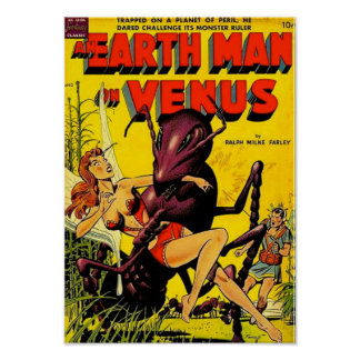 Earth Man on Venus Poster