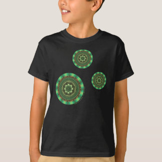 Earth Mandala Kid's and Baby Dark Shirt