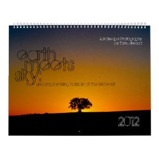 Earth Meets Sky 2012 Landscape Calendar