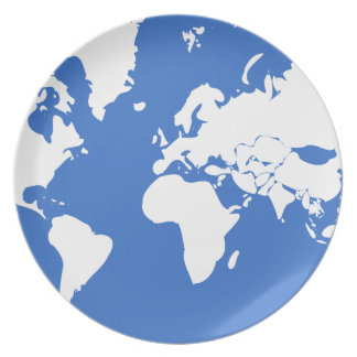 Earth / Melamine Plate