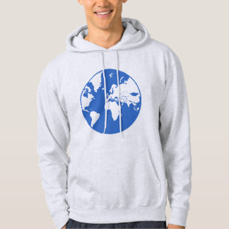 Earth / Men's Basic Hooded Sweatshirt