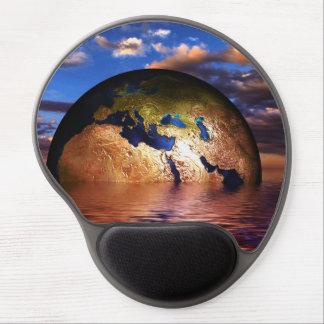 Earth Modern Design Gel Mousepad