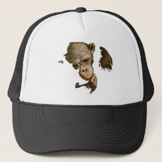 Earth Monkey Trucker Hat