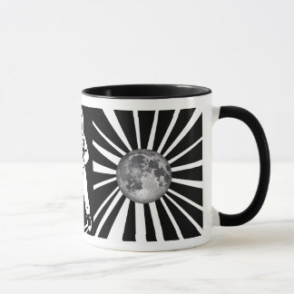 Earth Moon Astronaut Mug