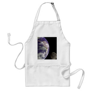 Earth & Moon from Galileo Standard Apron