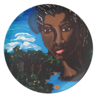 Earth Mother and Goddess of the Planet Dinner Plates