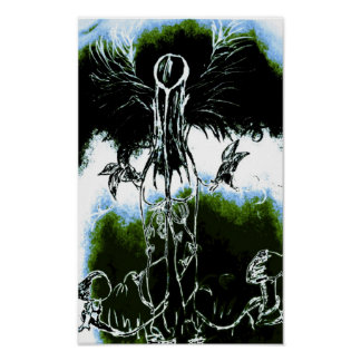 Earth Mother nature lover Poster
