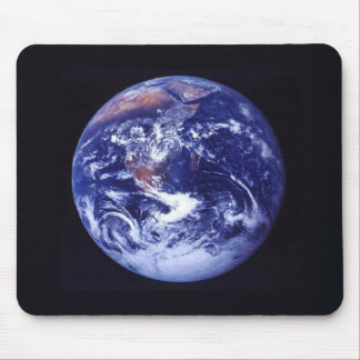 Earth Mousepad Apollo 17 Outer Space View