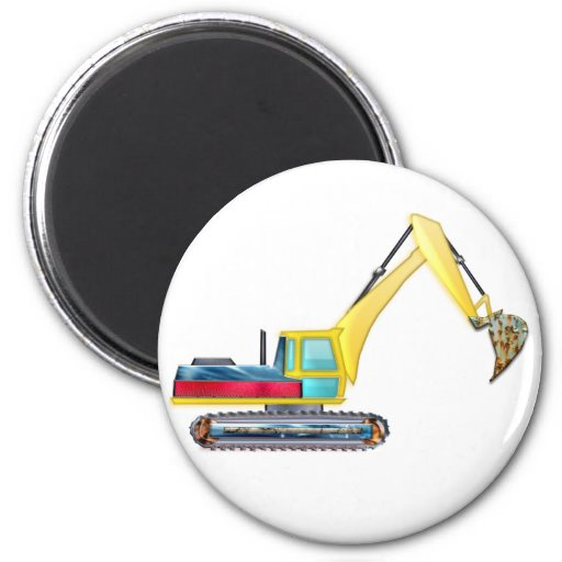 Earth Mover Refrigerator Magnets