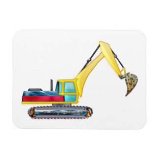 Earth Mover Rectangular Photo Magnet