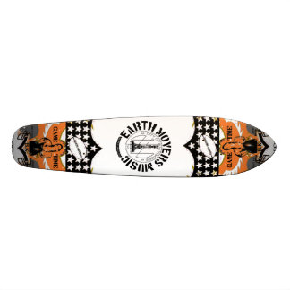 Earth Movers Street Surfer Skate Deck