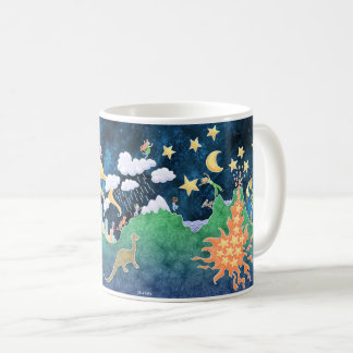 Earth Mug - volcano mountains