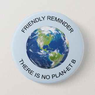 Earth No plan B button