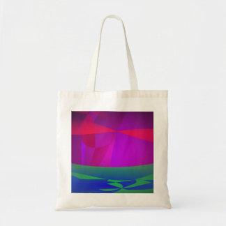 Earth Ocean Grass Canvas Bags