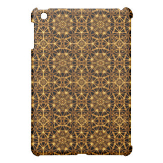 Earth Octagons PAttern Cover For The iPad Mini