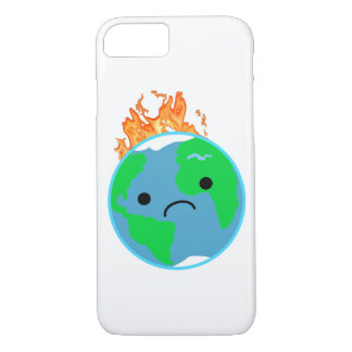 Earth On Fire iPhone 8/7 Case