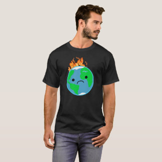 Earth On Fire T-Shirt