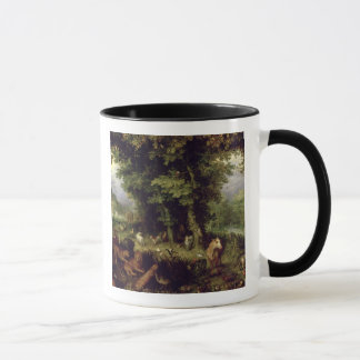 Earth or The Earthly Paradise, 1607-08 (oil on cop Mug