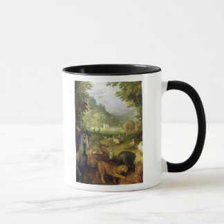 Earth, or The Earthly Paradise, detail of Mug