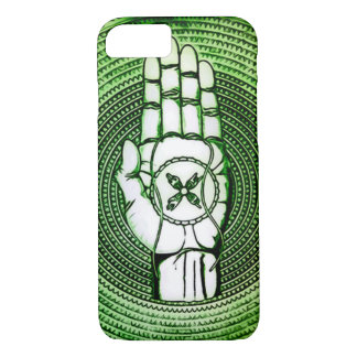 Earth Oracle Hand Art iPhone 7 Case
