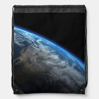 EARTH ORBIT DRAWSTRING BAG