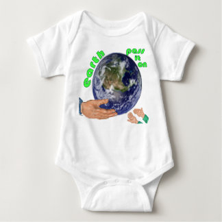 earth pass it on baby bodysuit