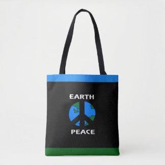 Earth Peace Tote Bag