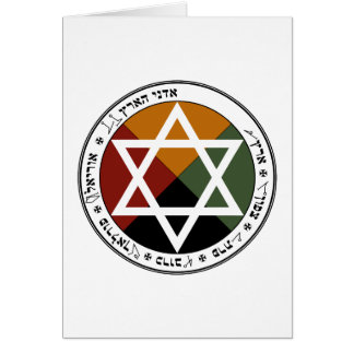 Earth Pentacle Card