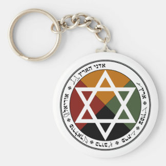 'Earth Pentacle' Keychain