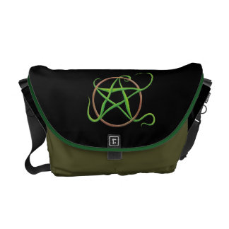 Earth Pentacle Messenger Bag