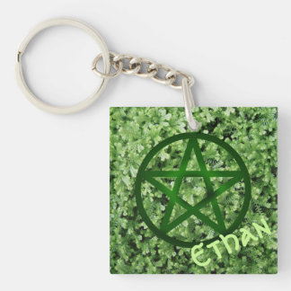 Earth - Personalized Keychain