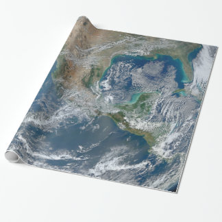 Earth Planet Photo From Space Wrapping Paper