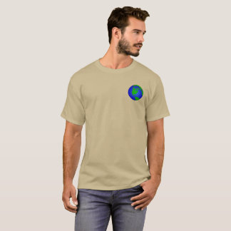 Earth. Pocket. T-Shirt