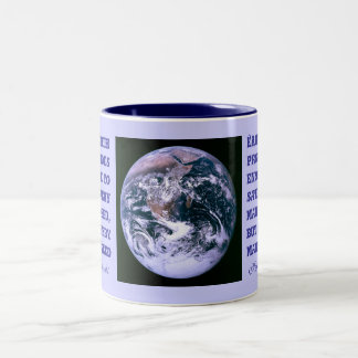 Earth provides mug