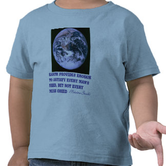 Earth provides toddler shirt