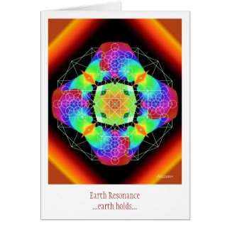 Earth Resonance Card