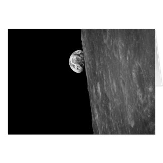 """Earth-Rise,"" First Photo of this from Space Card"