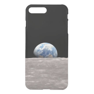 Earth rise iPhone X/8/7 Plus Clear Case