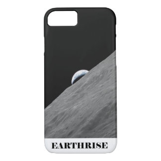 Earth Rising Above the Horizon of the Moon iPhone 7 Case