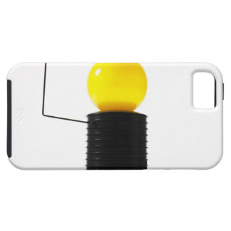Earth rotating sun model on white background iPhone 5 cases